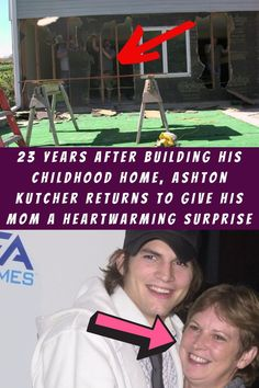 #Years #After #Building #Childhood #Home #Ashton #Kutcher #Returns #Mom #Heartwarming #Surprise Eyeshadow Looks, Green Eyeshadow, Disney Girls Room, Pageboy Haircut, Edgy Short Haircuts, Curly Hair Styles, Natural Hair Styles, Gold Wall Art, Stylist Tattoos