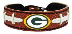 Green Bay Packers Classic Football Bracelet