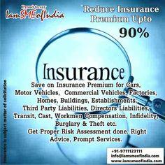 Huge Savings on Insurance ! Reduce INSURANCE Premium upto 90%.For complete details visit: https://www.iamsmeofindia.com/deals/insurance