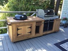 BBQ Station from Pallet Boards