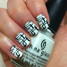 China Glaze: White on White; BM 203