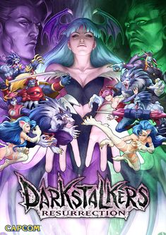 Darkstalkers Resurrection Key Art by `Artgerm on deviantART