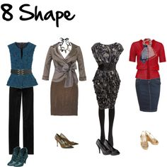 8 Shape By Imogenl On Polyvore Hourgl Outfits Fashion Body