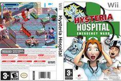 Tudo Capas Gtba: Hysteria Hospital Emergency Ward - Capa Game Wii