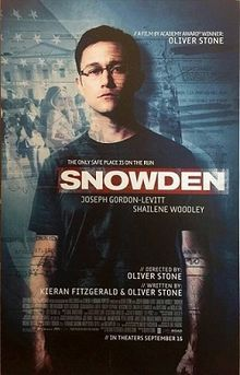 Oliver Stone's Snowden.  What does it really mean to be a patriot?