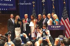Donald Trump announces bid for 2016 US presidential election