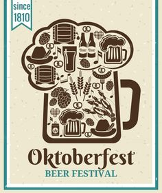 Oktoberfest Beer Festival Poster by Microvector on Creative Market