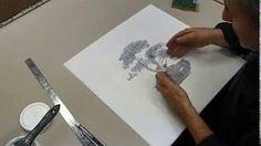 Peinture sur l'eau - À voir ! - YouTube