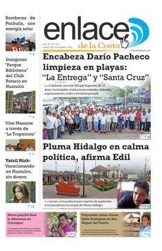 Edición 273; Enlace de la Costa  Edición número 273 del periódico Enlace de la Costa, editado y distribuido en la Costa de Oaxaca, con información de la región y sus municipios.