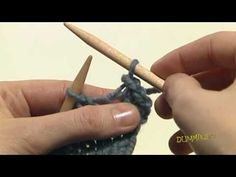 Finish your knitted piece by binding off (or casting off) to secure the stitches in the last row you've completed. This video shows you how to bind off to ensure that your knitting doesn't unravel.