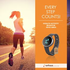 Count your steps and see every inch of your progress with IHEALTH ACTIVITY MONITOR AM3S . Take a step closer towards your fitness goals.