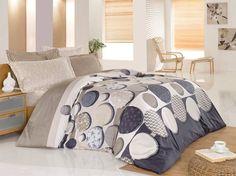 Pościel satynowa Valentini Bianco Limited Edition ROMANCE KAWA, 160x200 + 2x 70x80 cm oraz 220x200 + 2x70x80 cm, 100% bawełna.
