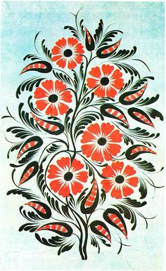 Flora Flowers, Border Embroidery, Folk Art, Print Patterns, Around The Worlds, Prints, Inspiration, Paintings, Flowers