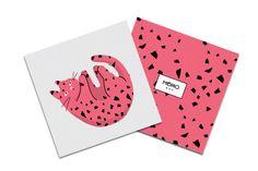 Postcard / Gift Card Design for Momobox