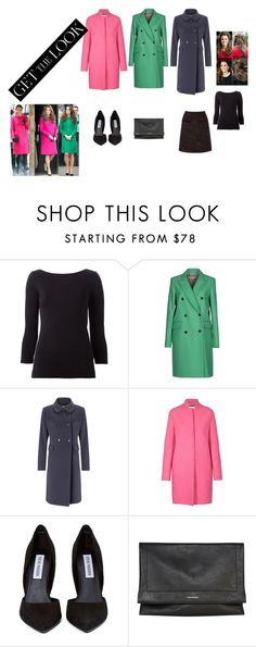 """""""Like the Lady Herself...."""" by aanchal-sagar on Polyvore featuring Theory, RHIÉ, Four Seasons, Harris Wharf London, Steve Madden, Karen Millen, Warehouse and coolcoat"""