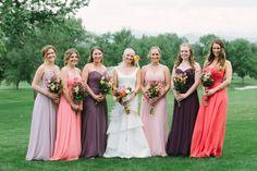 Bohemian sunset inspired wedding via Coastal Bride