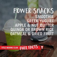 Super Bowl cheat day? Us, too. We'll all need this list of power snacks tomorrow for fueling our workouts. #fuelfacts