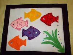 Color Fish from Fund with Friends at Storytime