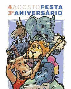 A arca da noe, TERCEIRO ANIVERSARIO Comic Books, Comics, Cover, Third Birthday, Cartoons, Cartoons, Comic, Comic Book, Comics And Cartoons