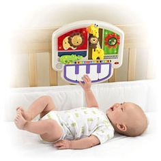 Luv U Zoo. Crib-to-floor Activity Piano. By Fisher Price