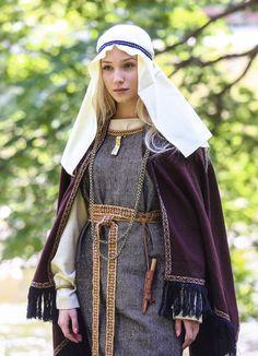 I-IV century Baltic, Northern Lithuania. Lithuanian archaeological costume. Author - PhD Daiva Steponaviciene, PI Vita Antiqua