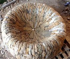 Dry stone firepit for my Chelsea Flower Show garden 2015 'The Time In Between' Fire Pit Decor, Fire Pit Seating, Stone Masonry, Dry Stone, Chelsea Flower Show, Fire Pit Backyard, Outdoor Fire, Stone Work, Yard Art