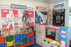 Hospital role-play area classroom display photo - SparkleBox