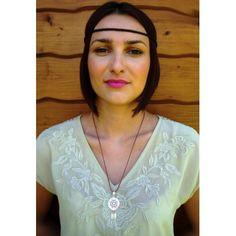 Srebrny łapacz snów Lace, Jewelry, Tops, Women, Fashion, Moda, Jewlery, Jewerly, Fashion Styles