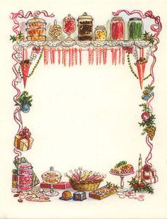 RARE Tasha Tudor Vintage Irene Dash Christmas Card Mint Condition as Shown Decoupage, Vintage Christmas, Christmas Cards, Christmas Treats, Envelopes, Writing Paper, Book Of Shadows, Recipe Cards, Yule