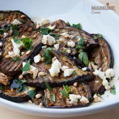 Salata de vinete la gratar / Grilled eggplant salad - Madeline's Cuisine