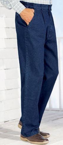 Chums Mens Stretch Waist Denim Jean in Stretch Fabric