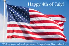 July - Happy 4th of July!