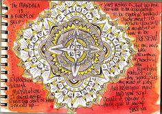 The Mandala is a Form of Self Exploration Through Meditation