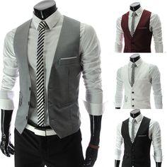 Aliexpress.com : Buy Free shipping2013 New Gentle Men Vest Men's Formal Suit V necked vest Slim Fit Fashion 4 colors M XXL MWM151 from Reliable men vest suppliers on Men's choice $16.99