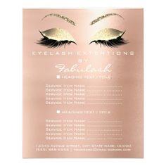 #glitter - #Makeup Artist Beauty Salon Gold Glitter Flyer VIP