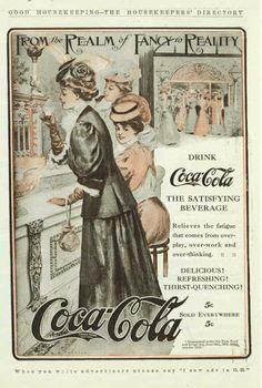1889 – Coca Cola – Vintage Poster Design