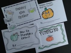 4 Emergent readers (2 non-fiction, 2 fiction with an interactive book on positional words) are just part of Octoberfest for Kids! 72 pages of learning for K-1. Click for a FREEBIE!