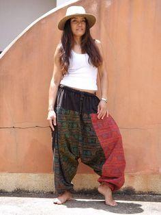 Yoga for Women: Exercises Yoga Pants, Harem Pants, Trousers, Aladdin Pants, Plus Size Looks, Patchwork Fabric, Yoga Tips, Cotton Lights, Fit Women