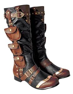 88cdb5c624f 27 Best Steampunk Boots Mens images in 2017 | Shoe boots, Dress ...