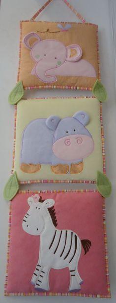 Kumaş bebek odası duvar panoları