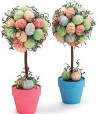 easter topiary..this might be my second craft project???