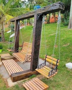60 Amazing DIY Outdoor Projects Furniture Design Ideas – Diy Project - back yard diy projects Diy Garden Furniture, Furniture Ideas, Rustic Furniture, Modern Furniture, Antique Furniture, Outdoor Furniture Design, Outside Furniture, Furniture Buyers, Furniture Outlet