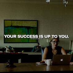 Your success is up to you #study // follow us @motivation2study for daily inspiration