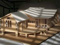 Modern Wooden Dollhouse | Dollhouse-Wood *Note: link doesn't work*