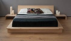 Image of Create Ultra Elegance of Bedroom with A New Collection of Zen Platform Beds