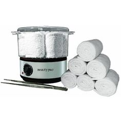 Beauty Pro Hot Towel Steamer Kit, creates hot, moist towels for a variety of applications for the professional beauty and spa industry. Massage Room Decor, Massage Therapy Rooms, Spa Room Decor, Massage Room Design, Home Nail Salon, Nail Salon Design, Nail Salon Decor, Privates Nagelstudio, Spa Room Ideas Estheticians