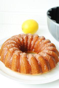 Torta di limone e yogurt senza burro - Glu-Fri ricette senza glutine - recetas sin gluten
