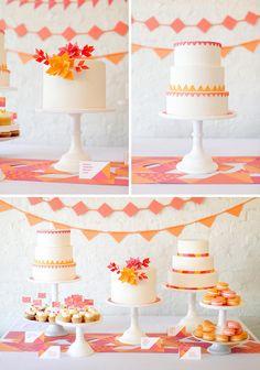 NIce cake display