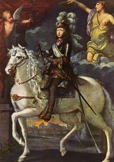 Louis XIV (1638-1715), age ten, 1648 attributed to Jean Nocret