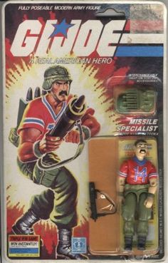 Carded (Triple Win Promo)<br><i>Contributed by: E. Son</i> Gi Joe, Childhood Toys, Childhood Memories, 1980s Toys, Joe Cool, Nightmare On Elm Street, Classic Toys, Old Toys, Toy Store